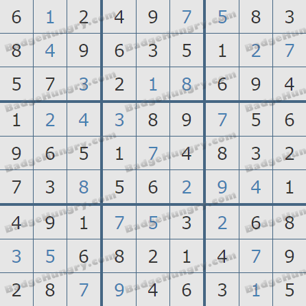 Pogo Daily Sudoku Solutions: October 15, 2020