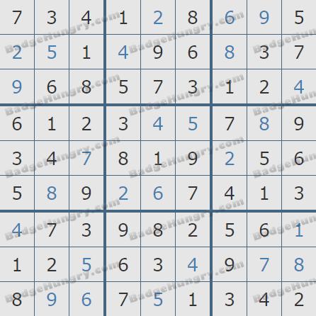 Pogo Daily Sudoku Solutions: October 17, 2020
