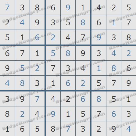 Pogo Daily Sudoku Solutions: October 18, 2020