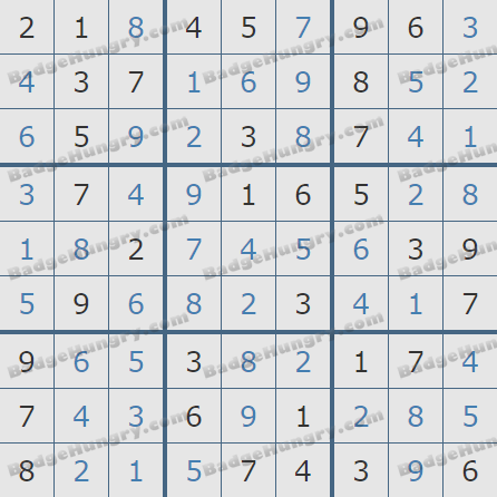 Pogo Daily Sudoku Solutions: October 19, 2020