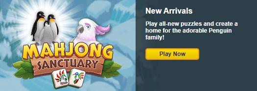 Mahjong Sanctuary: Arctic Biome Penguin