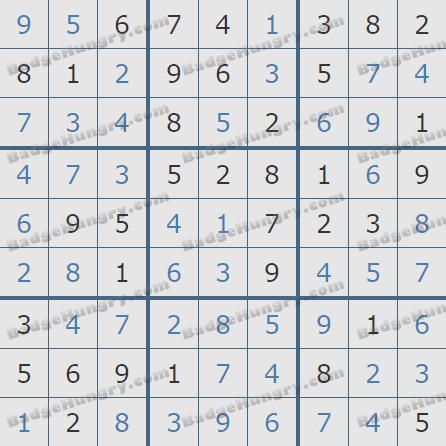 Pogo Daily Sudoku Solutions: October 21, 2020