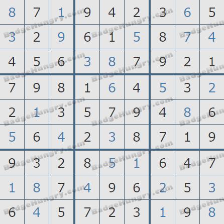 Pogo Daily Sudoku Solutions: October 24, 2020