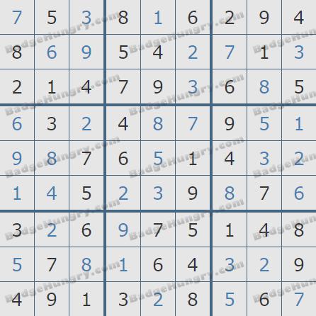 Pogo Daily Sudoku Solutions: October 26, 2020
