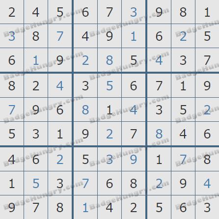 Pogo Daily Sudoku Solutions: October 27, 2020