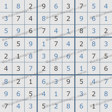 Pogo Daily Sudoku Solutions: October 31, 2020