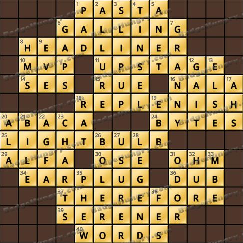 Crossword Cove HD Solution: October 31, 2020