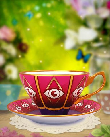 Garden Tea Party Event Badge