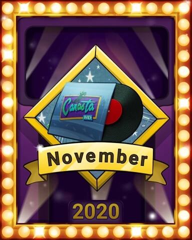 November 2020 Game of the Month Canasta HD Badge