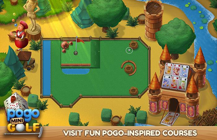 Pogo Mini Golf (Screenshot)