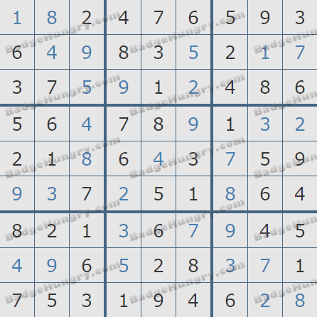 Pogo Daily Sudoku Solutions: November 4, 2020