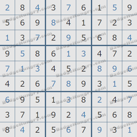 Pogo Daily Sudoku Solutions: November 17, 2020