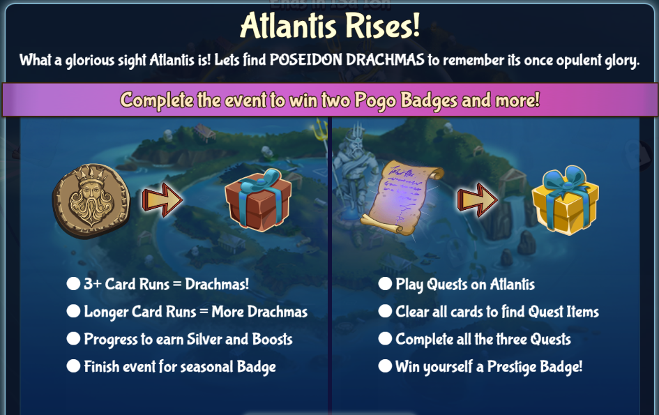 Solitaire Blitz: Atlantis Rises Event