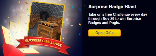 Surprise Badge Challenges