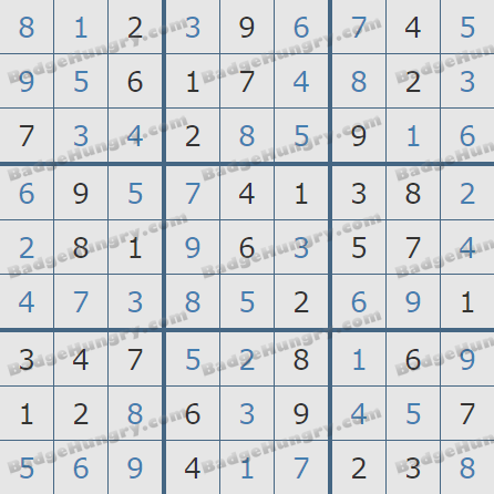 Pogo Daily Sudoku Solutions: November 23, 2020