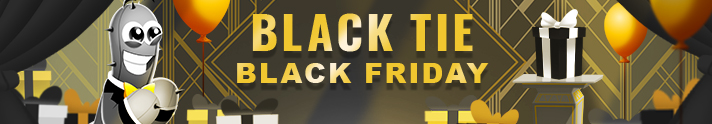 Coming soon: Pogo's Black Tie Black Friday and Cyber Monday Sales 2020