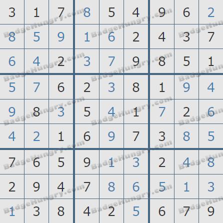Pogo Daily Sudoku Solutions: November 29, 2020