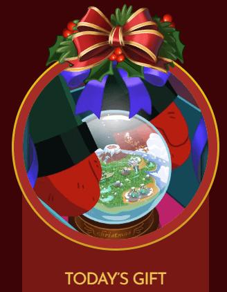 Free Gift: Snowbird Solitaire Globe Badge
