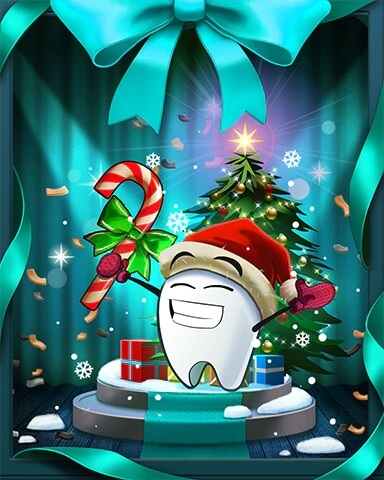 Sweet Tooth Town Snowy Shindig Event Badge