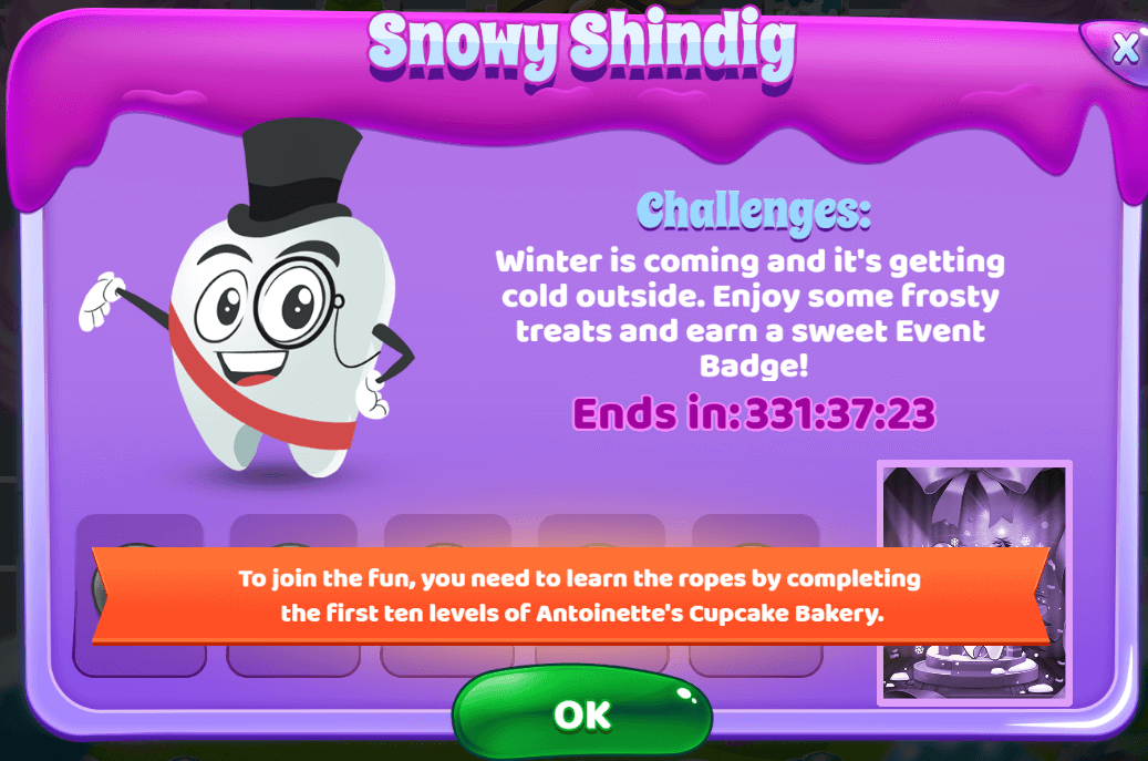 Sweet Tooth Town: Snowy Shindig Event