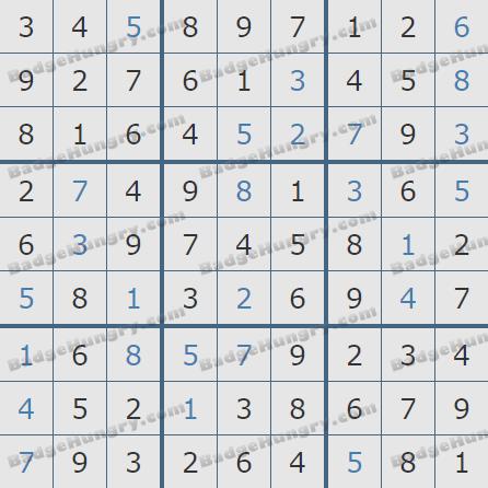 Pogo Daily Sudoku Solutions: December 2, 2020