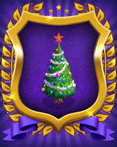 Snowbird Solitaire: Holiday Event Badge