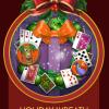 Jungle Gin HD Holiday Wreath Badge