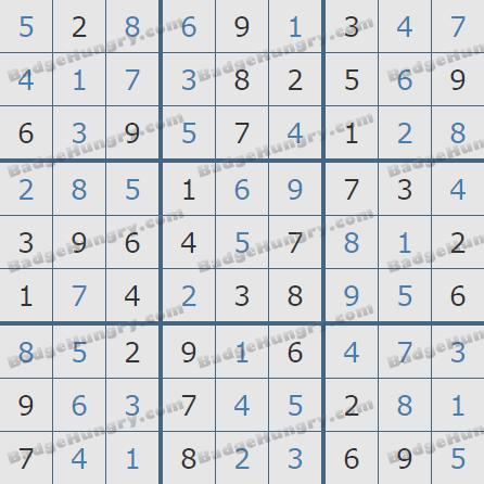 Pogo Daily Sudoku Solutions: December 4, 2020