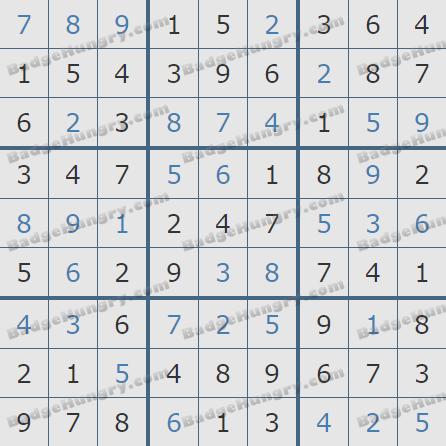 Pogo Daily Sudoku Solutions: December 8, 2020