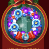 Peggle Blast HD Holiday Wreath Badge