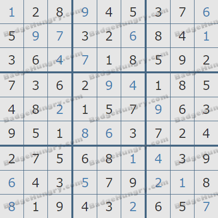Pogo Daily Sudoku Solutions: December 12, 2020