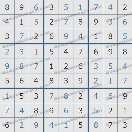 Pogo Daily Sudoku Solutions: December 14, 2020