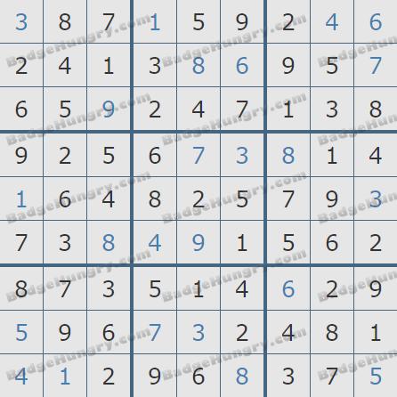 Pogo Daily Sudoku Solutions: December 16, 2020