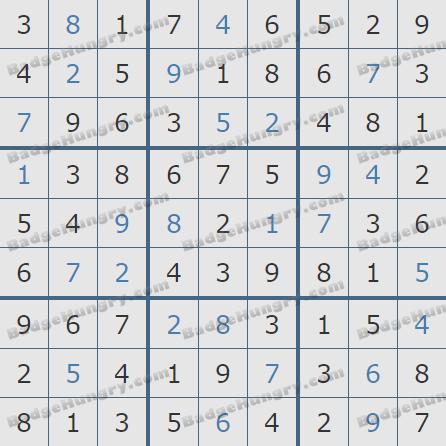 Pogo Daily Sudoku Solutions: December 18, 2020
