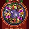 StoryQuest Holiday Wreath Badge