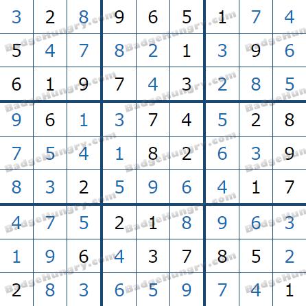 Pogo Daily Sudoku Solutions: December 20, 2020