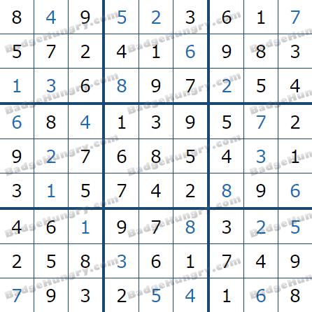 Pogo Daily Sudoku Solutions: December 21, 2020
