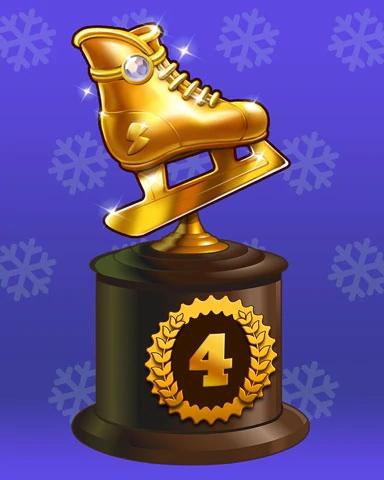 Holiday Skate-Off Badge Marathon Badge