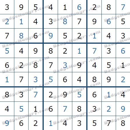 Pogo Daily Sudoku Solutions: December 28, 2020