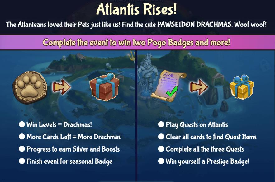 Solitaire Blitz: Atlantis Rises II Event