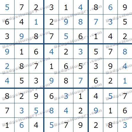 Pogo Daily Sudoku Solutions: January 21, 2021