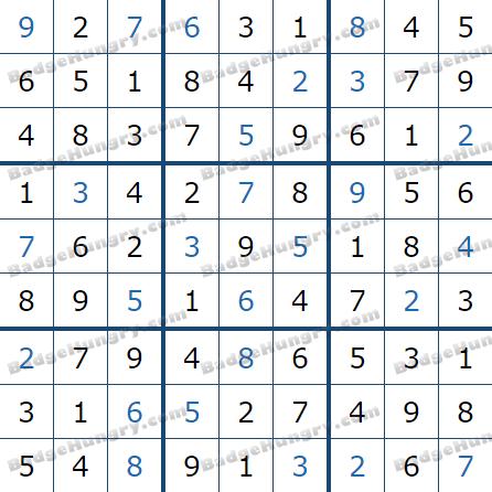 Pogo Daily Sudoku Solutions: January 23, 2021