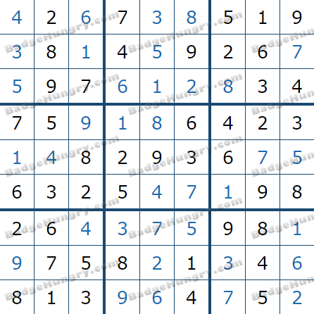 Pogo Daily Sudoku Solutions: January 27, 2021