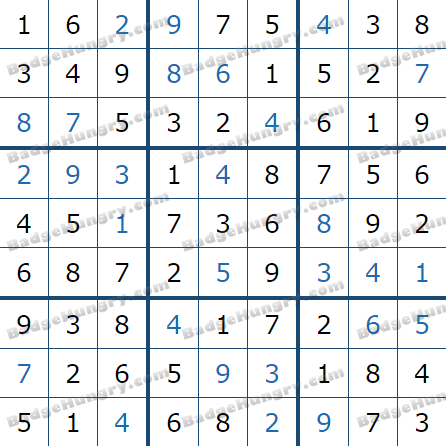 Pogo Daily Sudoku Solutions: January 30, 2021