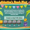 Snowbird Solitaire: Valentine's Beach Blast Event