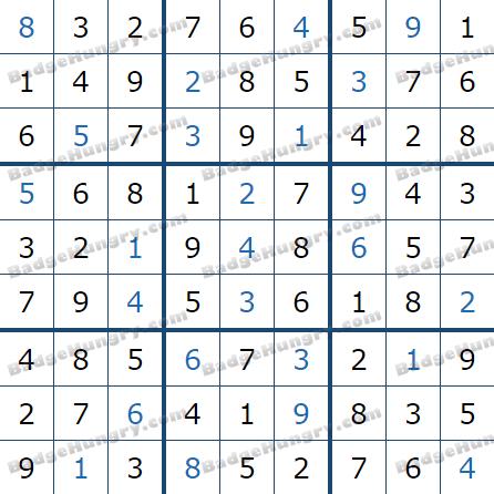 Pogo Daily Sudoku Solutions: February 4, 2021