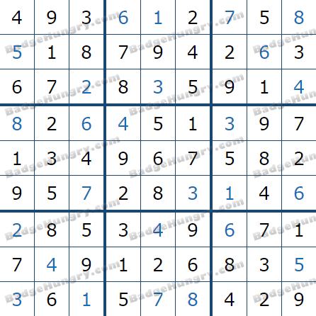 Pogo Daily Sudoku Solutions: February 6, 2021