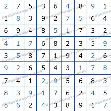 Pogo Daily Sudoku Solutions: February 11, 2021