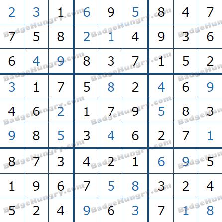 Pogo Daily Sudoku Solutions: February 12, 2021