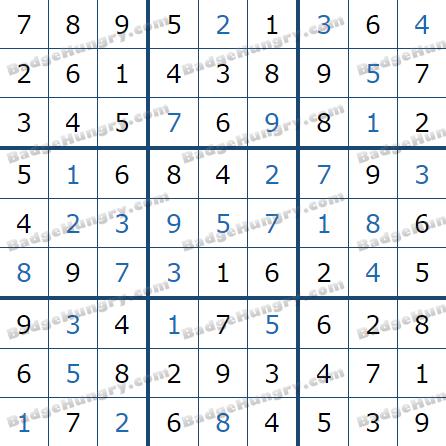 Pogo Daily Sudoku Solutions: February 14, 2021